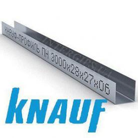 ГК Профиль Knauf UD-27 3м 0,6 мм