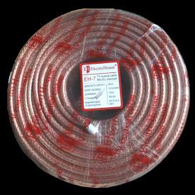 ElectroHouse Телевизионный (коаксиальный) кабель RG-6U CCS 1,02 Cu прозрачный Силикон