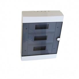 ElectroHouse Бокс пластиковый модульный для наружной установки на 36 модулей