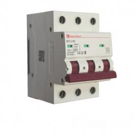 ElectroHouse Автоматический выключатель 3P 63A 4,5kA 230-400V IP20