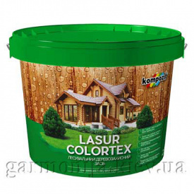 Лазурь для древесины COLORTEX Kompozit 0,9 л Махагон