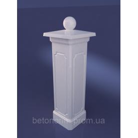 Столб опорный из искусственного мрамора 300х1020 мм