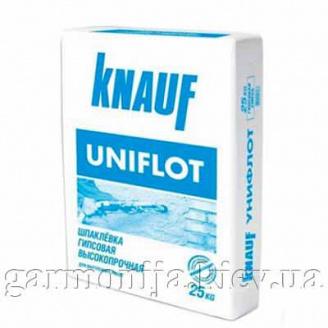 Шпаклівка KNAUF Uniflot гіпсова 25 кг