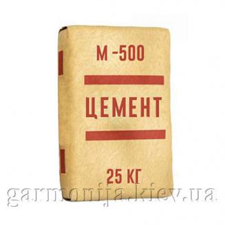 Цемент ПЦ II/A-Ш-500 ЦПК 25 кг