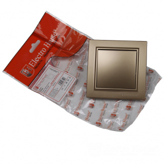 ElectroHouse Выключатель Роскошно золотой Enzo IP22