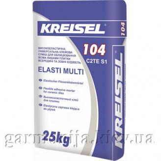 Клей для плитки KREISEL 104 эластичный 25 кг
