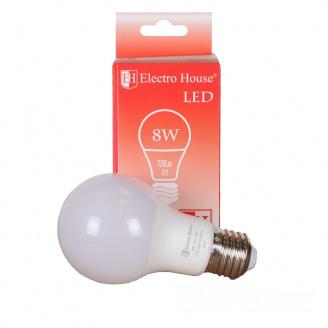 Светодиодная лампа ElectroHouse E27 8W G45 4100K 720Lm