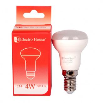 Светодиодная лампа ElectroHouse гриб E14 4W R39 4100K 360Lm