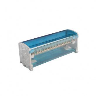 ElectroHouse Шина нулевая в корпусе (кросс-модуль) 2X15 125A IP20