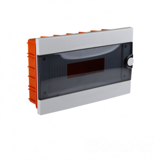 ElectroHouse Бокс пластиковый модульный для внутренней установки на 16 модулей