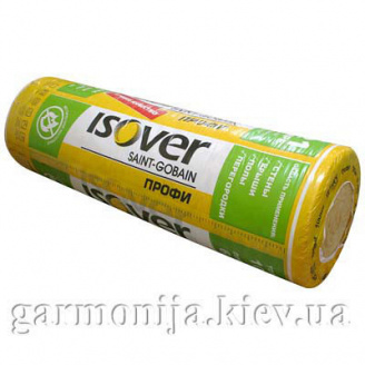 Скловата Isover Профі 1220х5000х100мм 6,1 м2