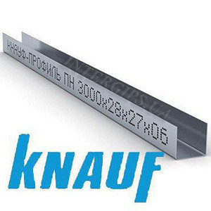 ГК Профіль Knauf UD-27 4м 0,6 мм