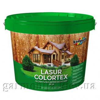 Лазурь для древесины COLORTEX Kompozit 0,9 л Тик