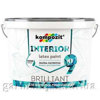 Краска интерьерная INTERIOR 9 Kompozit 4,5 л