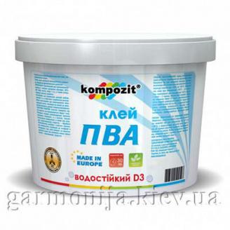 Клей ПВА D3 Kompozit 5 кг