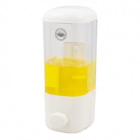 Дозатор жидкого мыла Trento белый/прозрачный 400 мл