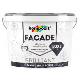 Краска фасадная силік FASADE LUXE Композит база С 1,4 кг