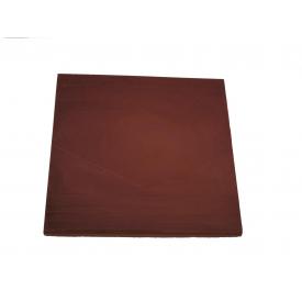 Плита парапетная 400х400 мм красная