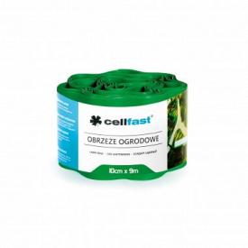 Бордюр городньо-газонний CellFast зелений 200x9000
