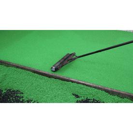 Укладка бесшовного резинового покрытия RubCover 10 мм