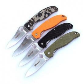 Нож сложный Ganzo G734-OR оранжевый