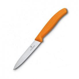 Нож кухонный Victorinox SwissClassic Paring 10 см оранжевый (Vx67706.L119)