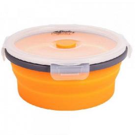 Контейнер складаний з кришкою-засувкою Tramp TRC-088-orange