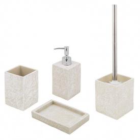 Комплект аксесуарів у ванну кімнату Trento Sand Stone