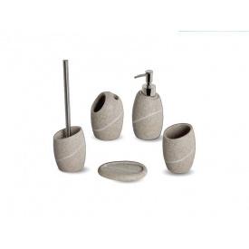 Комплект аксессуаров в ванную комнату Trento Sea Stone