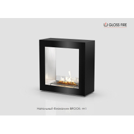 Напольный биокамин Brook-m1-300 Gloss Fire