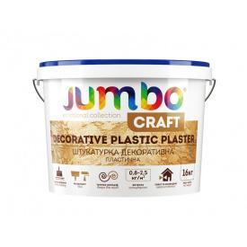 Штукатурка акриловая Jumbo CRAFT декоративная пластичная 16 кг