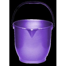 Ведро хозяйственное с носиком 13 л фиолетовый