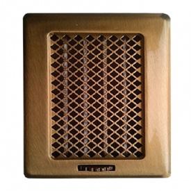 Вентиляційна решітка Рж2 175x195 мідь лакована Darco