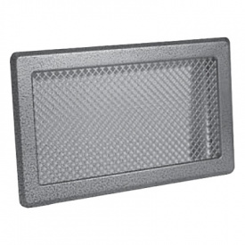 Вентиляційна решітка Р4 195х335 срібло античне Darco