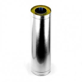 Труба-удлинитель 0,5-1 м 300/360 мм нержавеющая сталь/оцинкованна