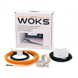 Комплект для теплої підлоги під ламінат, двожильний Woks 10, 150 Вт, 16 м
