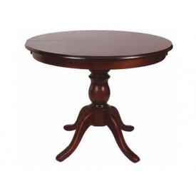 Дерев'яний круглий стіл Melitopol mebli Вікторія 77х100х100 см бук натуральний