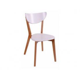 Дерев'яний стілець Melitopol mebli Модерн Т 44x55x82 см бук натуральний