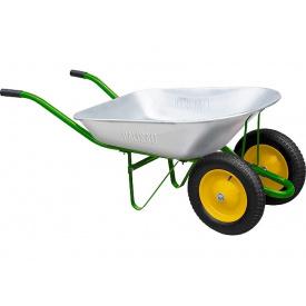 Тачка садовая два колеса 170 кг 78 л PALISAD