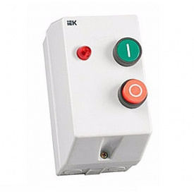 Контактор КМИ 10960 9А с индикацией 400В/АС3 IP54 IEK