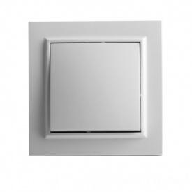 ElectroHouse Выключатель белый Enzo EH-2101.