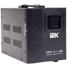 Релейний стабілізатор напруги IEK СНР1 1кВА електронний переносний