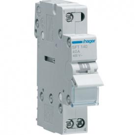 Переключатель I-0-II 1р 40А 230В Hager SFT140