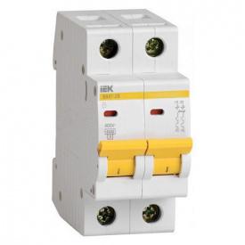 Автоматический выключатель ВА47-29 2p 8A C ИЭК