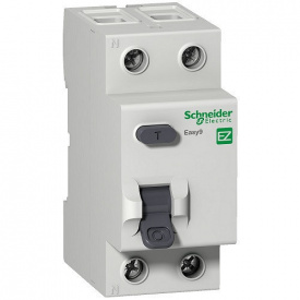 """Диференційний вимикач (ПЗВ) Easy9 2p, 25А, 30мА, тип """"АС"""""""