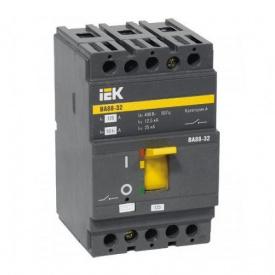 Автоматичний вимикач ВА88-32 3Р 25А 25кА IEK