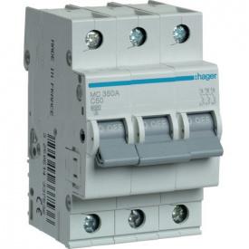 Автоматичний вимикач 3p 50А З MC350A Hager