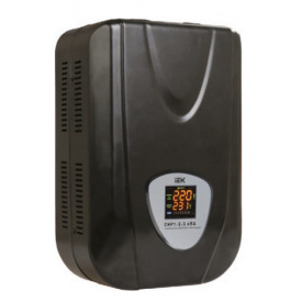 Стабилизатор напряжения для дома ИЭК СНР1 10кВА электронный настенный.