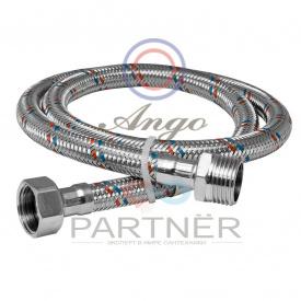 Шланг для воды в нержавеющей оплетке ANGO 100 см НВ