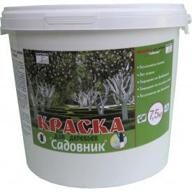 Краска для деревьев 7,5кг 1,4